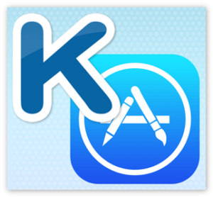 AppStore and KateMobile