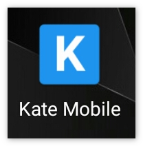 Ярлык приложения KateMobile